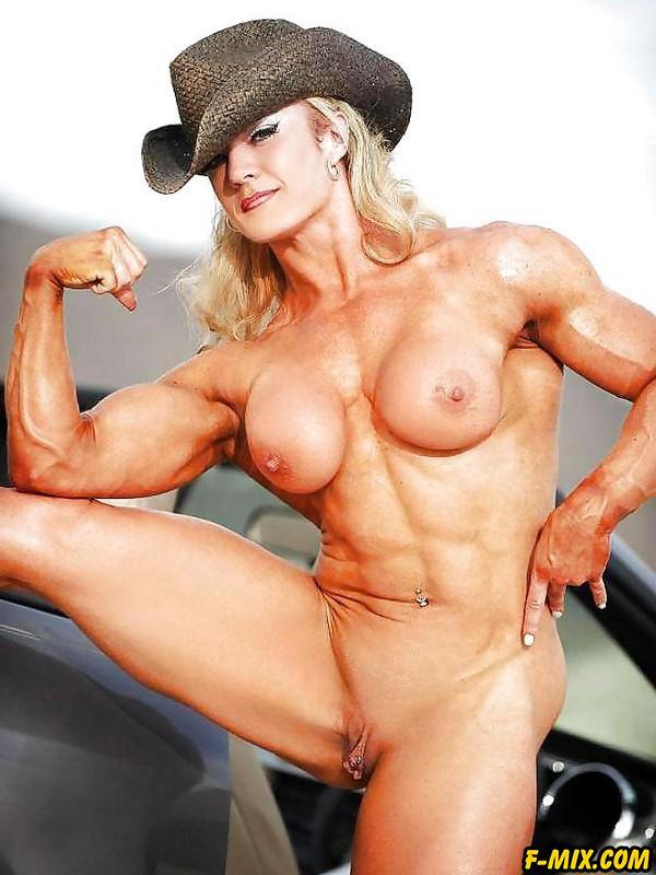 Big pussy on female bodybuilders